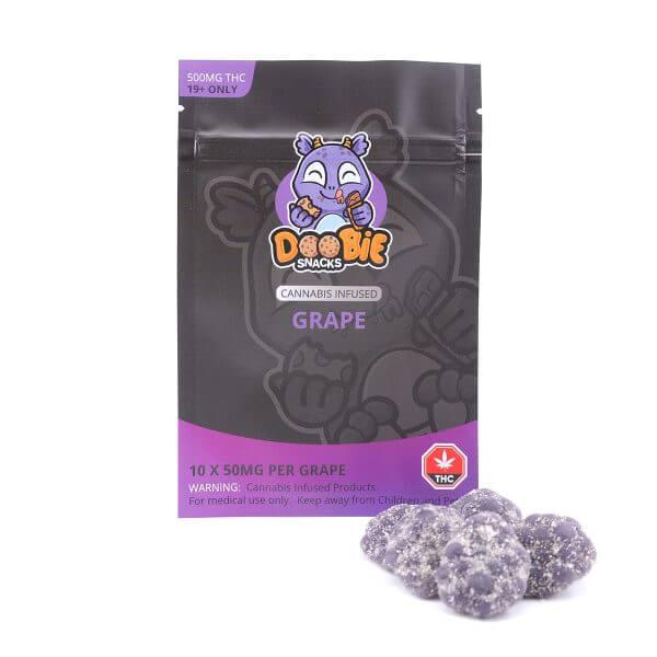 Buy Doobie Snacks – Grape 500mg THC online Canada