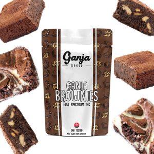 Buy Ganja Edibles – Marble Brownie 1x 600mg online Canada