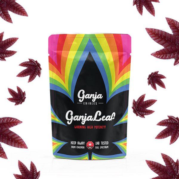 Buy Ganja Edibles – Ganja Leaf Black Cherry 1000mg THC online Canada