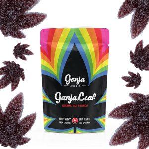 Buy Ganja Edibles – Ganja Leaf Sour Black Cherry 1000mg THC online Canada