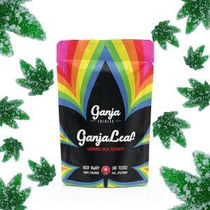 Buy Ganja Edibles – Ganja Leaf Sour Green Apple 750mg THC online Canada