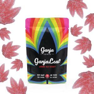 Buy Ganja Edibles – Ganja Leaf Sour Watermelon 500mg THC online Canada
