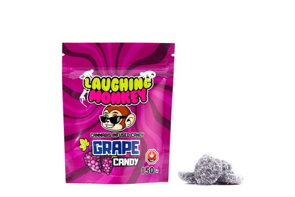 Buy Laughing Monkey – Grape 150mg THC online Canada