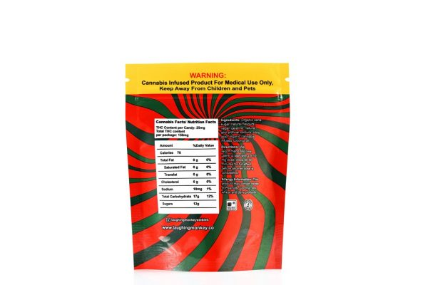 Buy Laughing Monkey – Watermelon 150mg THC online Canada