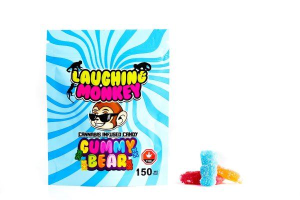 Buy Laughing Monkey – Gummy Bears 150mg THC online Canada