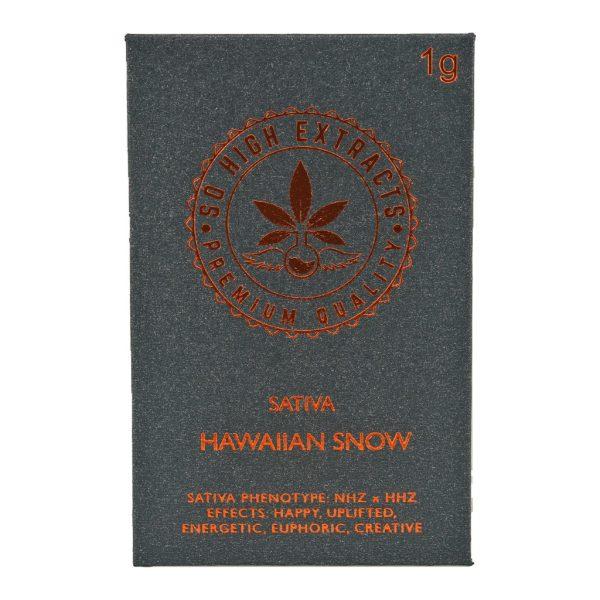 Buy So High Extracts Premium Shatter – Hawaiian Snow online Canada