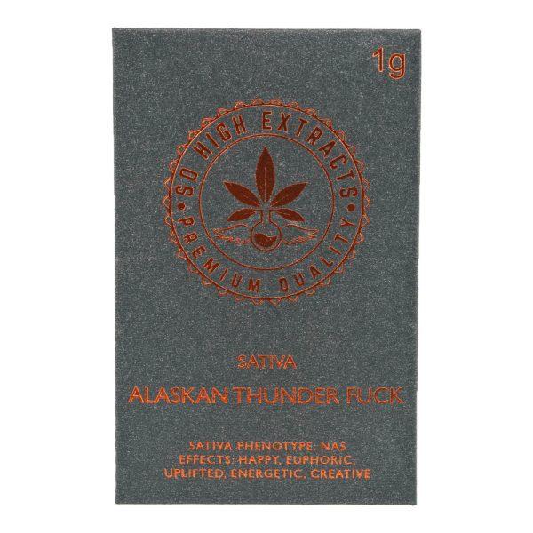 Buy So High Extracts Premium Shatter – Alaskan Thunder Fuck online Canada