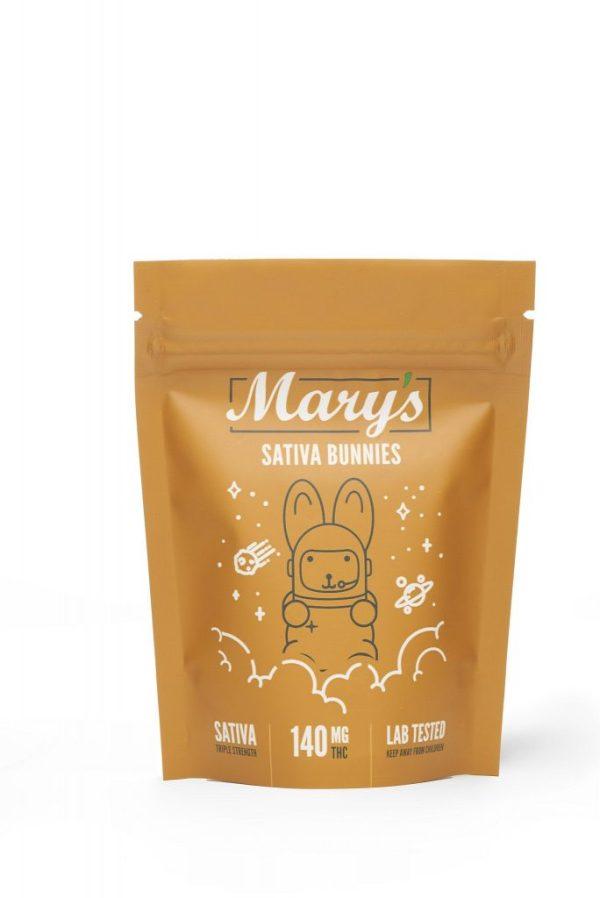 Buy Mary's Medibles Sativa Bunnies Triple Strength 140mg Sativa online Canada