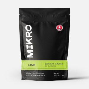 Buy Mikro Edibles – 1:1 100MG online Canada