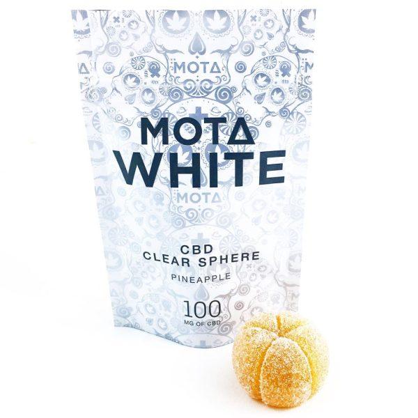 Buy MOTA – White CBD Clear Sphere online Canada