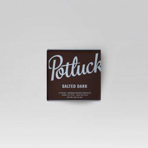 Buy Potluck Chocolate – Salted Dark 300mg THC online Canada