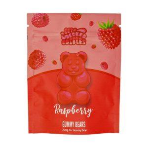 Buy Get Wrecked Edibles – Raspberry Gummy Bears THC online Canada