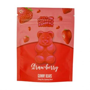 Buy Get Wrecked Edibles – Strawberry Gummy Bears THC online Canada