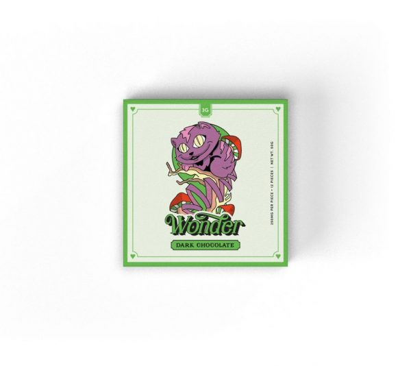 Buy Wonder – Psilocybin Chocolate Bar 3g online Canada