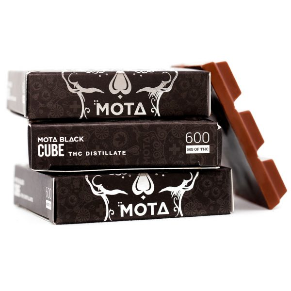 Buy MOTA – Black Chocolate Cubes online Canada