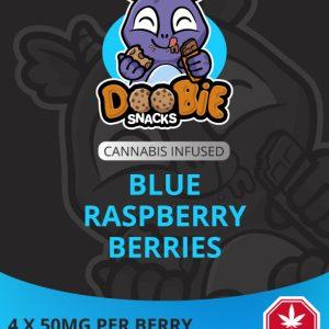 Buy Doobie Snacks – Blue Raspberry 200mg THC online Canada