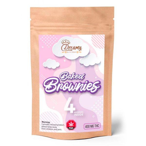 Buy Dreamy Delite Edibles Baked Brownies online Canada