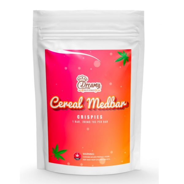 Buy Dreamy Delite Crispies Cereal Medbar online Canada