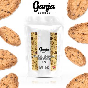 Buy Ganja Edibles – Oatmeal Chocolate Chip Cookie 15mg online Canada