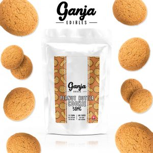 Buy Ganja Edibles – Peanut Butter Cookie 50mg online Canada