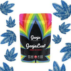 Buy Ganja Edibles – Ganja Leaf Sour Blue Raspberry 1250mg THC online Canada