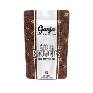 Buy Ganja Edibles – Chocolate Brownie 200mg online Canada