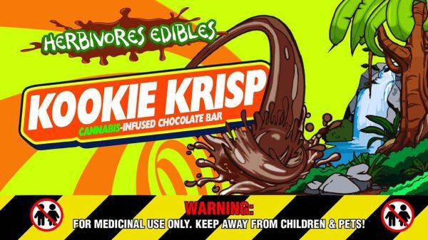 Buy Herbivores Edibles – Kookie Crisp Chocolate Bars online Canada