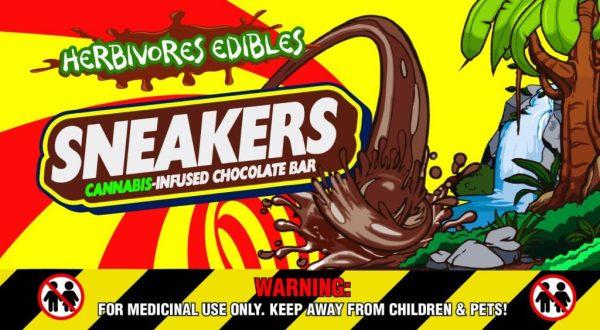 Buy Herbivores Edibles – Sneakers Chocolate Bars online Canada