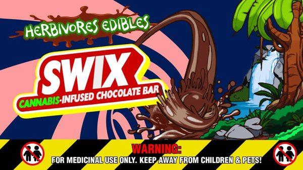 Buy Herbivores Edibles – Swix Chocolate Bars online Canada