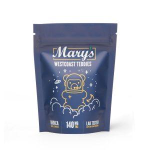 Buy Mary's Medibles Westcoast Teddies Triple Strength 140mg Indica online Canada