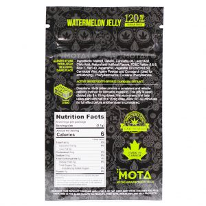 Buy MOTA – Sugar Free Jellies 120MG THC online Canada
