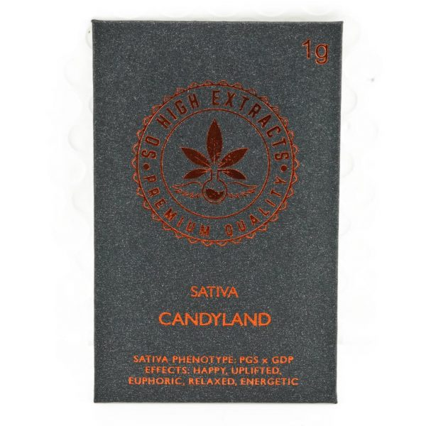 Buy So High Extracts Premium Shatter – Candy Land online Canada