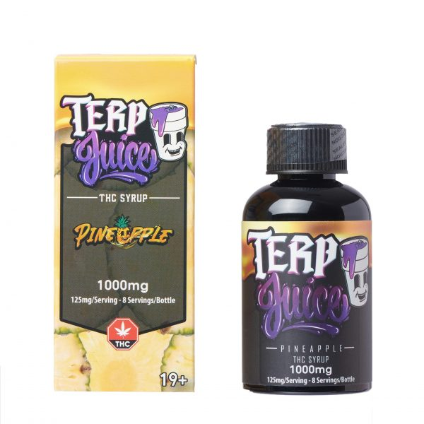Buy Terp Juice Syrup – Pineapple (THC) online Canada