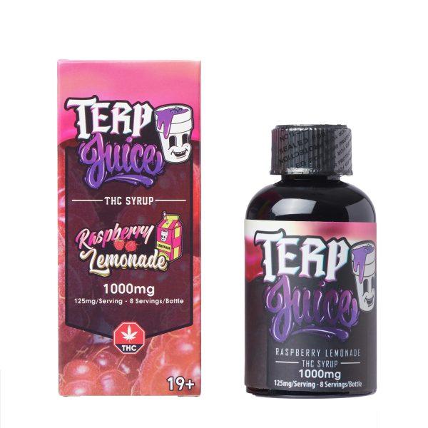 Buy Terp Juice Syrup – Raspberry Lemonade (THC) online Canada