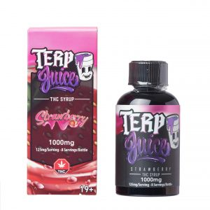 Buy Terp Juice Syrup – Strawberry (THC) online Canada