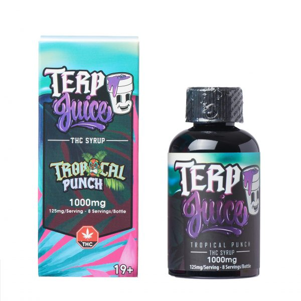 Buy Terp Juice Syrup – Tropical Punch (THC) online Canada