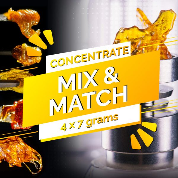 Buy Build Your Own Concentrate Oz 4 x 7g online Canada