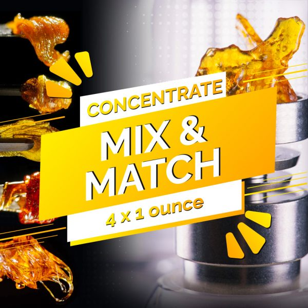 Buy Build Your Own Concentrate Quarter Pound 4 x 28g online Canada