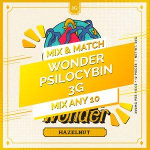 Buy Wonder – Psilocybin Chocolate Bar 3g – Mix and Match 10 online Canada