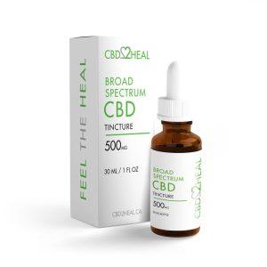 Buy CBD2HEAL – Broad Spectrum CBD Oil Tincture (30ml Bottle) online Canada