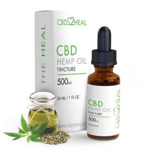 Buy CBD2HEAL – CBD Hemp Oil Tincture (30ml Bottle) online Canada