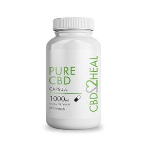 Buy CBD2HEAL – Pure CBD Gel Capsules (30 caps) online Canada