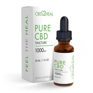 Buy CBD2HEAL – Pure CBD Oil Tincture (30 ml Bottle) online Canada