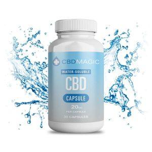 Buy CBD Magic – Water Soluble CBD Gel Capsules 600mg (30 caps) online Canada