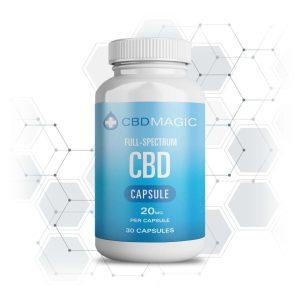 Buy CBD Magic – Full Spectrum CBD Hemp Gel Capsules (30 caps) online Canada
