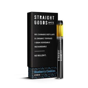 Buy Straight Goods – Blueberry Cookies Disposable (Hybrid) online Canada